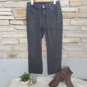 Retro Y2K Riders Lee Black Washed Mid High Rise Jeans